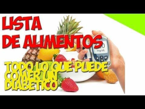 mostrar alimentos que puede comer con diabetes