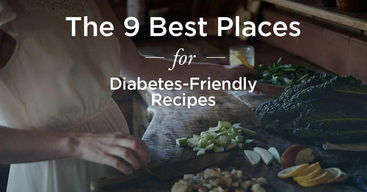 Diabetes Recipes: The Best Places To Find Them Online