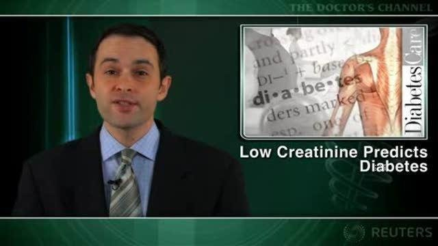 Low Creatinine Levels Linked To Diabetes
