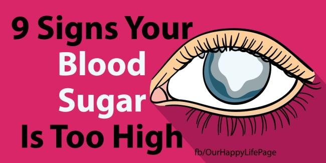 9 Signs Your Blood Sugar Is Way Too High