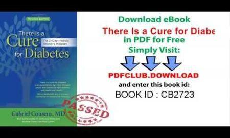 There Is A Cure For Diabetes: The Tree Of Life 21-day+ Program,