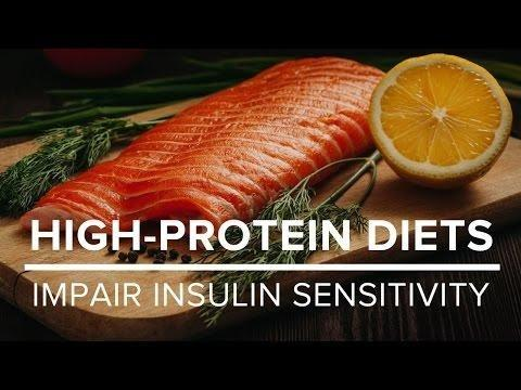 High-protein Diets Promote Weight Loss But Impair Insulin Sensitivity