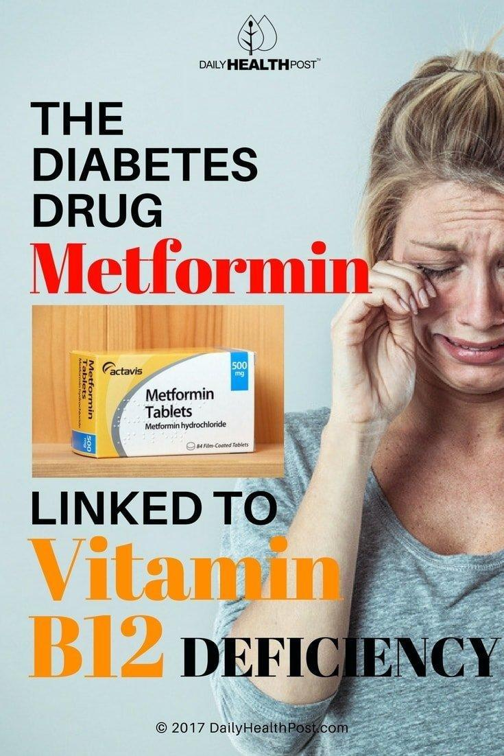 The Diabetes Drug Metformin Linked to Vitamin B12 Deficiency