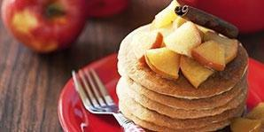 Oat Cinnamon Pancakes
