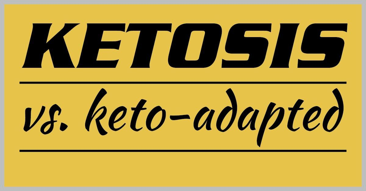 Difference Between Nutritional Ketosis And Starvation Ketosis