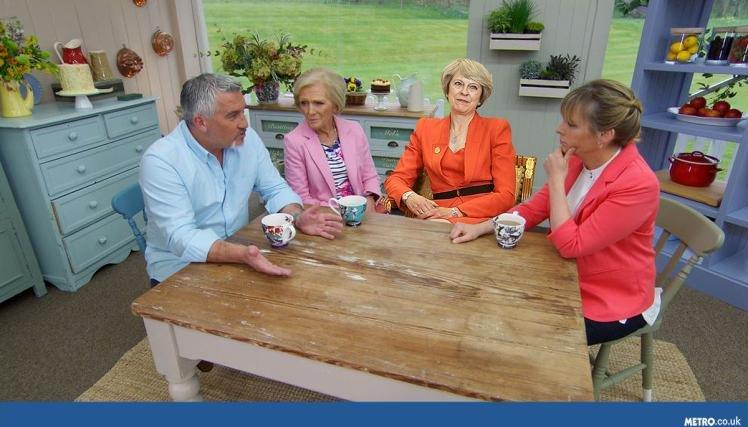 Theresa May Handled Great British Bake Off Row Very Diplomatically With A Scone Recipe