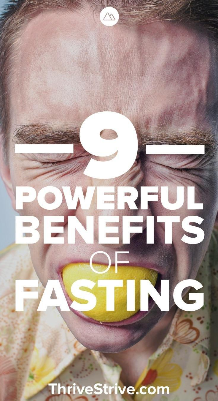 9 Powerful Benefits Of Fasting
