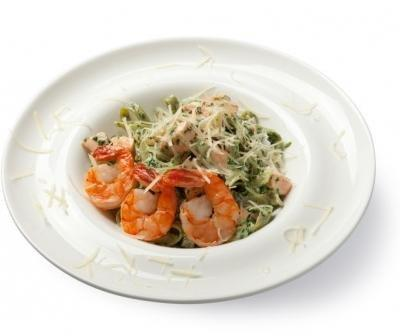 Recipe - Spaghetti With Seafood And Spinach - Recipes For Diabetics