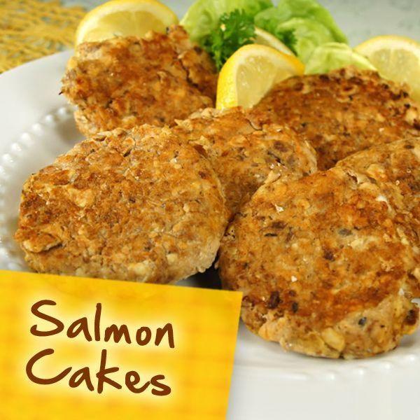 Diabetic Friendly Salmon Cakes