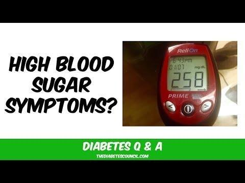 What Does It Feel Like When Your Blood Sugar Is Too High?