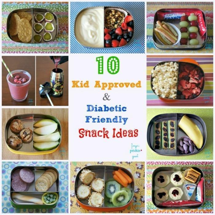 10 Kid Approved & Diabetic Friendly Snacks