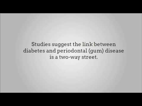 Periodontal Disease And Diabetes Mellitus A Two-way Relationship