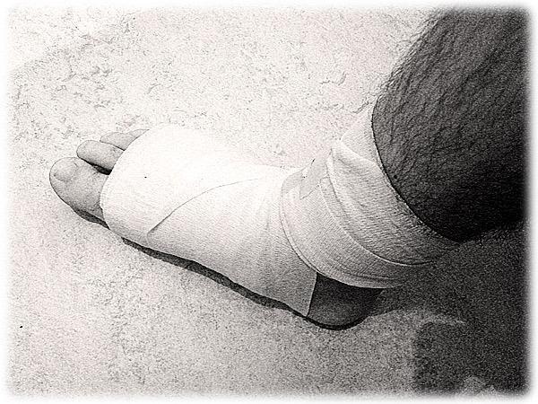New Foot Spray Treats Diabetic Foot Wounds   Healing Feet