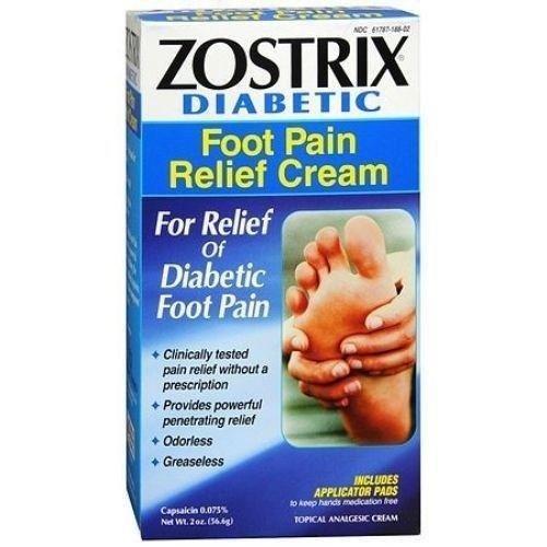 Zostrix Diabetic Foot Pain Relieving Cream Diabetestalk Net