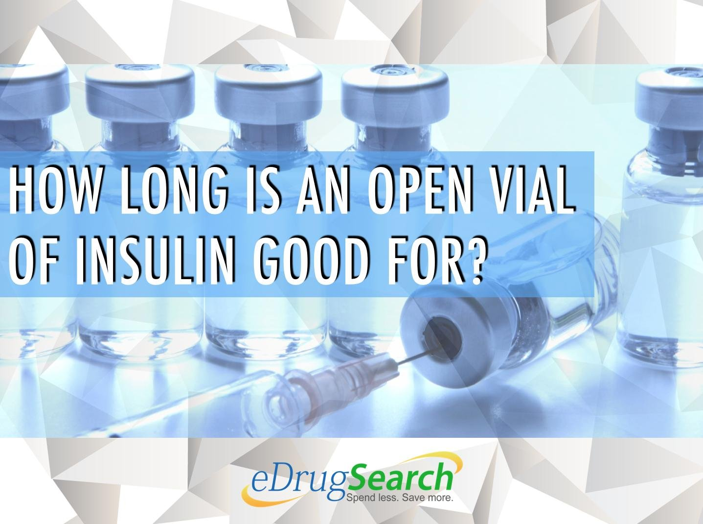 How Long Is An Open Vial Of Insulin Good For?