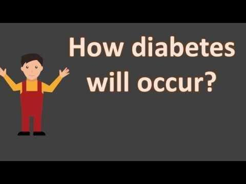 How To Diabetes Occur