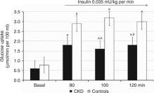 Insulin Sensitivity Of Muscle Protein Metabolism Is Altered In Patients With Chronic Kidney Disease And Metabolic Acidosis