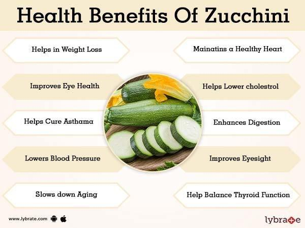 Benefits Of Zucchini And Its Side Effects
