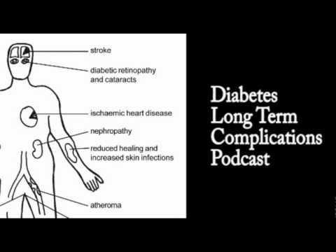 What Are Some Of The Long Term Complications Of Diabetes?
