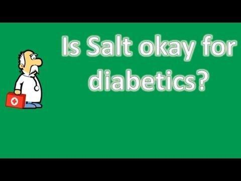 How Much Salt Is Recommended For Someone With Diabetes?