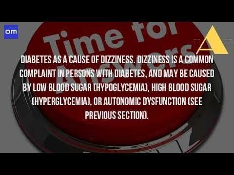 Can Diabetes Cause Headaches And Dizziness?