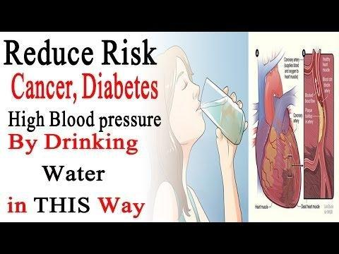 Drinking Water May Cut Risk Of High Blood Sugar