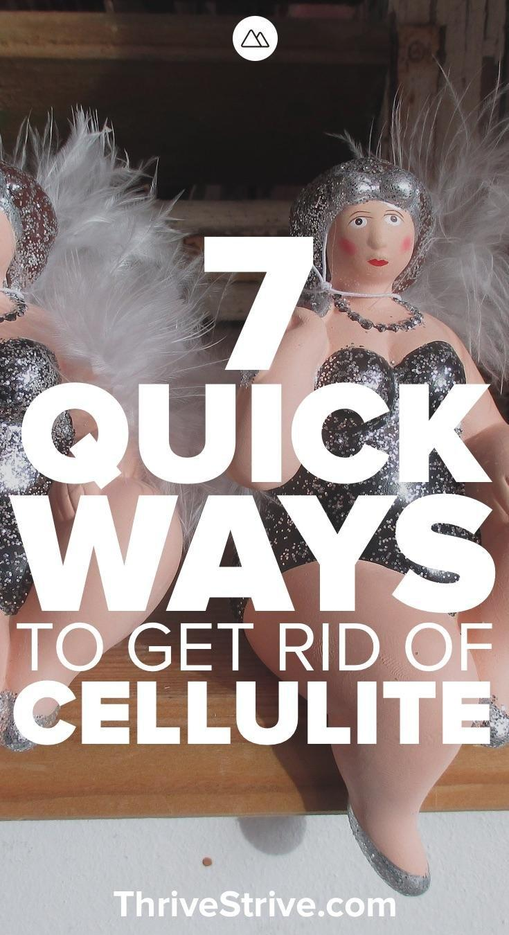 7 Realistic Ways To Get Rid Of Cellulite