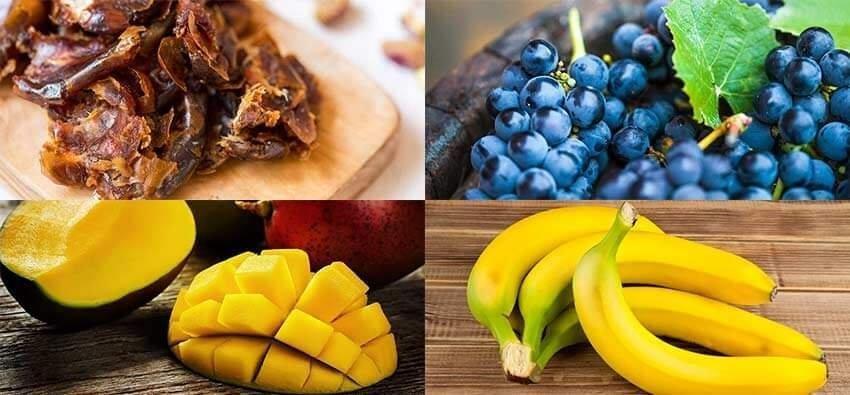12 Fruits High In Sugar