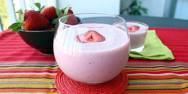 Diabetic Strawberry Smoothies