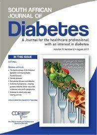 N South African Journal Of Diabetes - The Epidemiology Of The Diabetes Epidemic : A Growing Public Health Concern