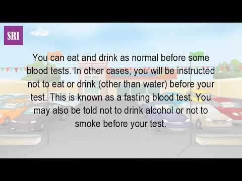 Does Drinking Water Affect Blood Sugar Test