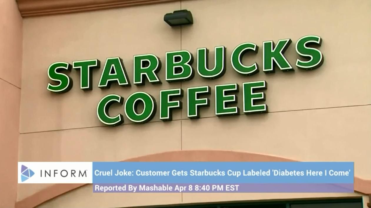 Starbucks Diabetes Cup