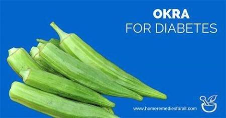 Use Okra For Diabetes Cure