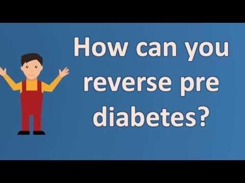 Can You Still Reverse Pre Diabetes?