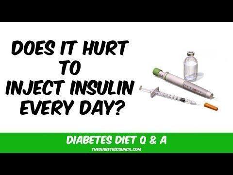 Do Diabetes Shots Hurt