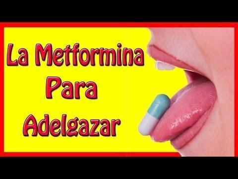 Cual es la dosis recomendada de metformina para bajar de peso