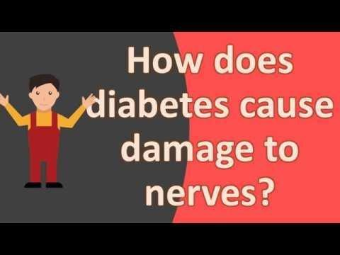 How Can Diabetes Cause Nerve Damage?