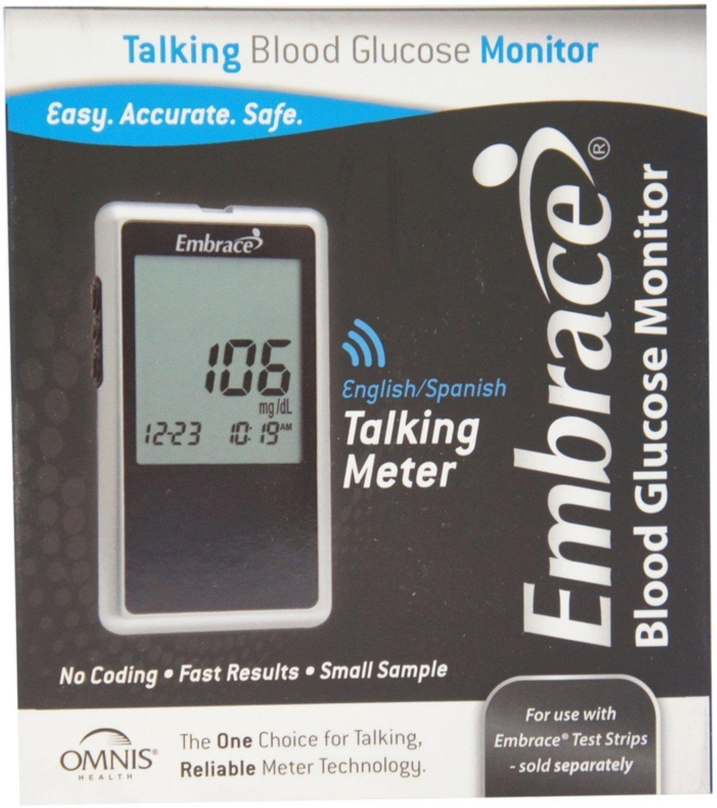 Embrace Omnis Blood Glucose Monitoring System 1 Ea