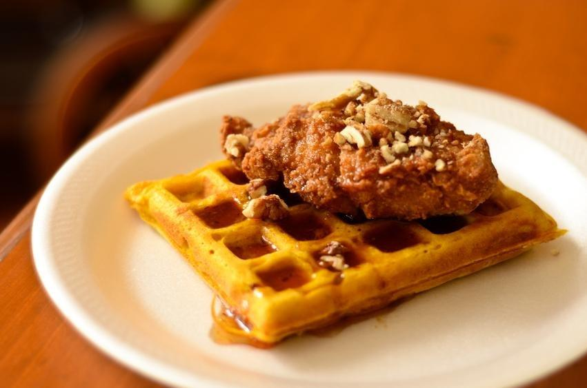 Free Diabetic Recipe: Chicken And Whole Grain Waffles