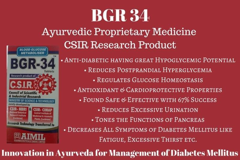BGR 34 for Diabetes