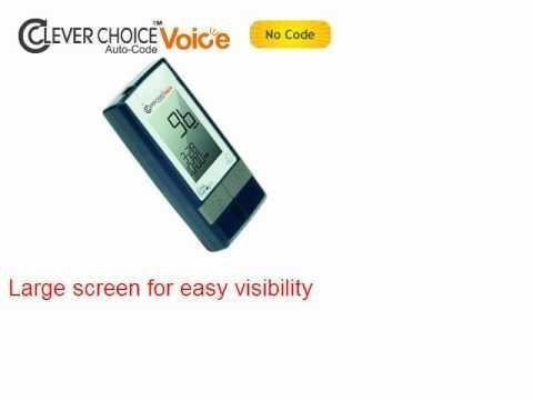 Embrace Talking Blood Glucose Meter