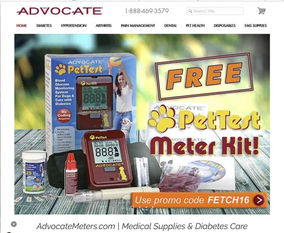 Advocate Pet Glucose Meter