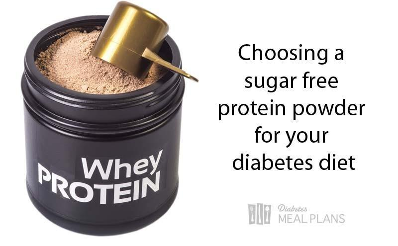 Tips To Choosing A Sugar Free Protein Powder That's Diabetes Friendly