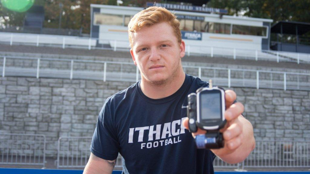 Football player discusses battle with diabetes