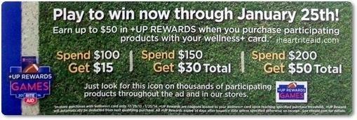 +up Rewards Games 12/29-01/25
