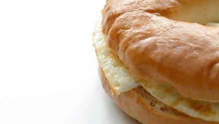 Breakfast Bagel Melt