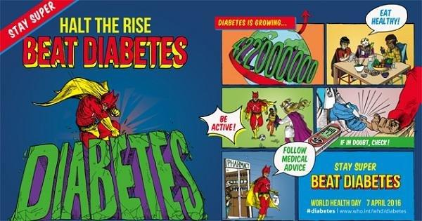 Who | World Health Day 2016: Beat Diabetes
