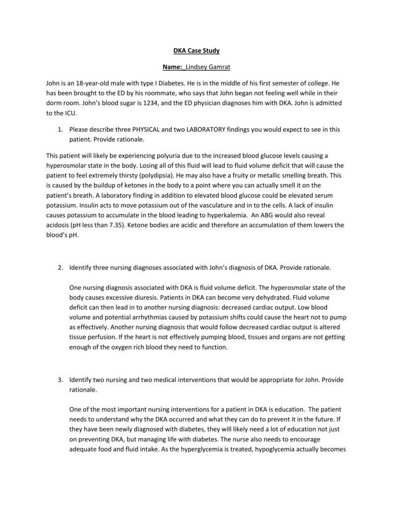 Dka Case Study