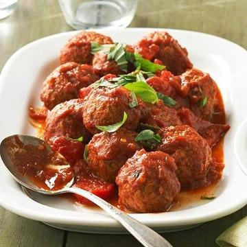 Diabetic Italian Meatballs