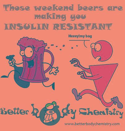 Those Weekend Beers Are Making You Insulin Resistant
